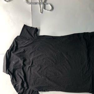 lululemon athletica Shirts - Lululemon black athletic polo